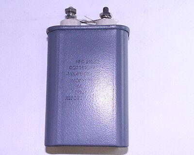 HEC 4UF 600VAC Motor Run Capacitor CQ72E1GF405K3