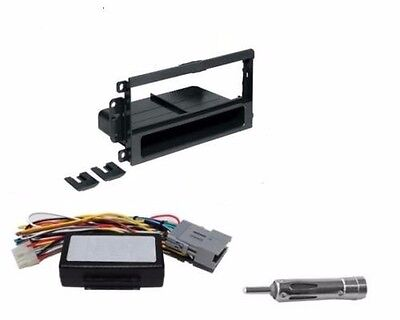 Single Din Aftermarket Install Dash Kit Radio Stereo to Factory System - System Installation Kit