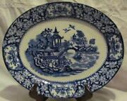 Willow Pattern Platter
