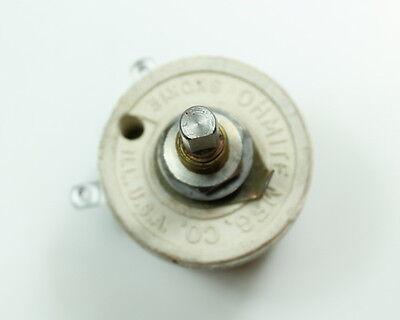 1x 300 Ohm 25w Rheostat Wirewound Resistor Potentiometer 25 Watt 300ohm Ohms