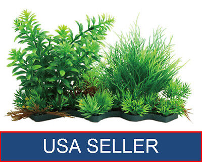 Artificial Water Plant Grass Decor Ornament For Fish Tank Aquarium
