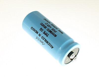Aero-m Cg602u035u4c 6000uf 35v Large Can Electrolytic Capacitor