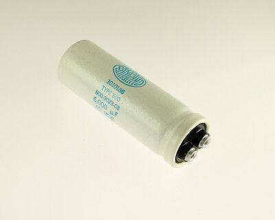Lot Of 2 Sangamo 500602u040ac 6000uf 40v Large Can Electrolytic Capacitor