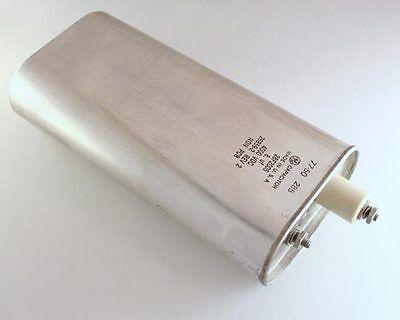 Ge 8uf 4000v High Voltage Oil Capacitor 8mfd 4000vdc 4000 Volts Dc 8 Uf Mfd Usa