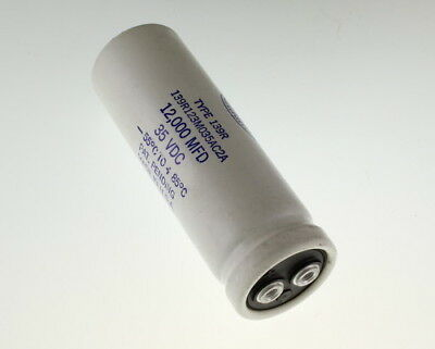 Sangamo 12000uf 35vdc Large Can Electrolytic Capacitor 139r123m035ac2a