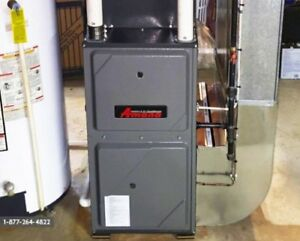 HIGH EFFICIENCY Furnace & Air Conditioners -  $1400+ Rebates