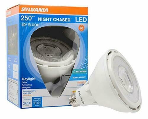 26 Watt 250 W Equivalent Daylight PAR38 LED Night Chaser Flo