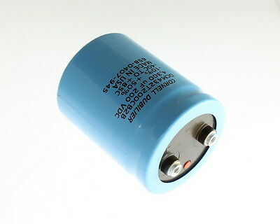 MEPCO ELECTROLYTIC CAPACITOR 1100uf mf MFD   200V  200VDC  NEW TESTED GOOD