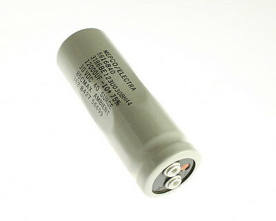 1x 12000uf 30v Large Can Electrolytic Aluminum Capacitor 12000mfd Dc Surge 40v