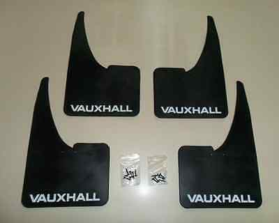 NEW Vauxhall Mudflaps + fittings FULL SET OF 4