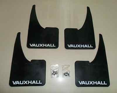 NEW Vauxhall Mudflaps + fittings FULL SET OF 4