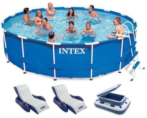 Intex Pool 15 X 42 Ebay