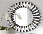 Art Deco Wall-Mounted Round Decorative Mirrors