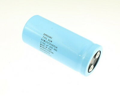 Sangamo 2700uf 200v Large Can Electrolytic Capacitor Dcm272t200ec2a