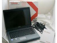 Toshiba Satellite Laptop + brand new Wireless mouse £170