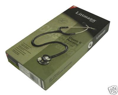 New Littmann Classic Ii Pediatric Stethoscope Black