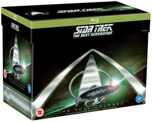 Star Trek the Next Generation: Complete (Box Set) [Blu-ray]