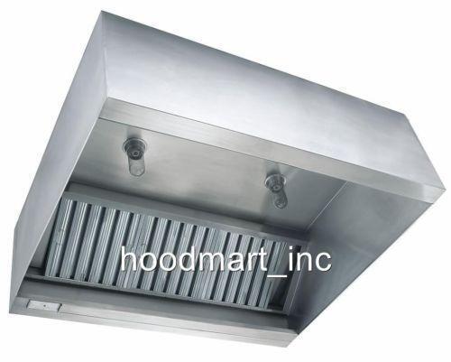 Used Restaurant Vent Hoods ~ Commercial stainless steel hood ebay