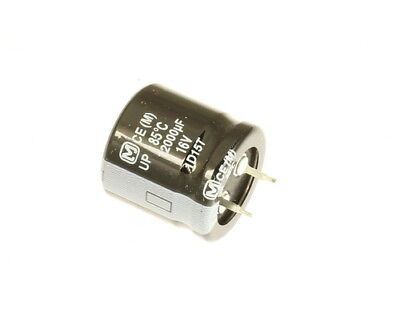 5x 12000uf 16v Dc Snap In Mount Electrolytic Capacitor 16 Volts 12000mfd 16vdc