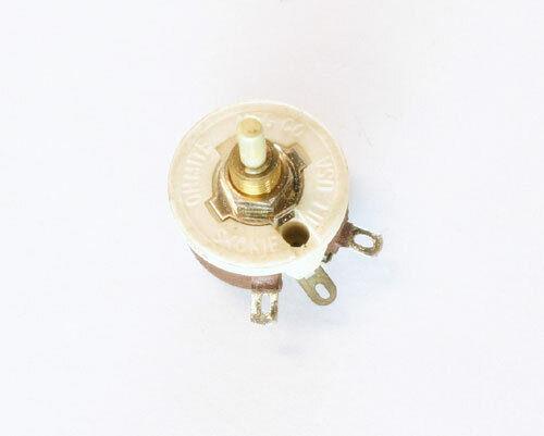 50 Ohm 12.5W Rheostat Wirewound Resistor Potentiometer 12.5 Watt 50ohm Ohms