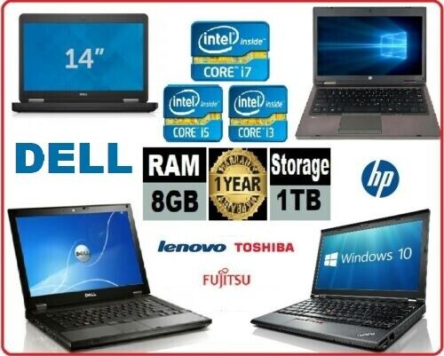 Laptop Windows - CHEAP HP DELL LENOVO LAPTOP CORE i5 / i3 4GB/8GB RAM 500GB HDD Wi-Fi WINDOWS 10