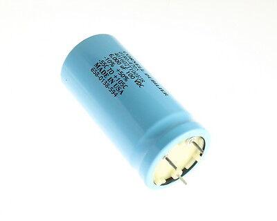 1x 6000uf 100v Large Can Electrolytic Aluminum Capacitor 6000mfd 100vdc 105c Usa