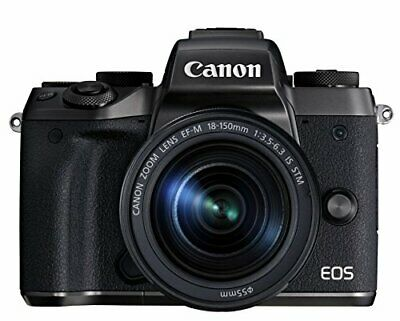 Canon Mirrorless Single-Lens Camera Eos M5 Lens Kit Ef-M18-150Mm F3.5-6.3 Is Stm