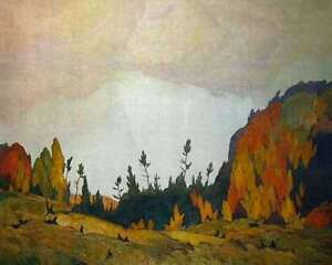 """A.J. Casson """"Northland"""" Lithograph - Appraised at $1300"""