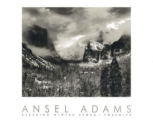 Ansel adams prints ebay for Ansel adams mural project posters