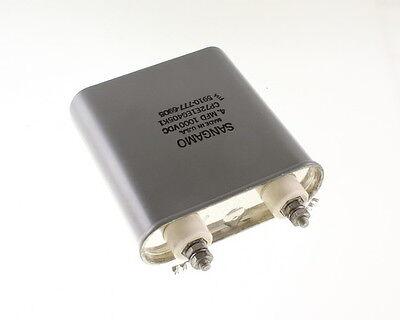 1x 4mfd 1000vdc Hermetically Sealed Oil Capacitor 4uf 1000v Dc 1000 Volts