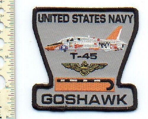 Military  Aviation Patch  USN  T-45 Goshawk - NEW !!