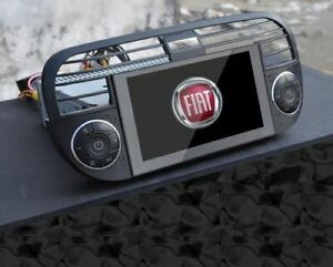 fiat 500 hd touchscreen navigation bluetooth audio dvd player