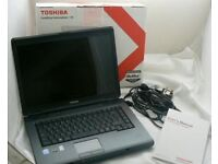 Toshiba Satellite Laptop + brand new Wireless mouse £165