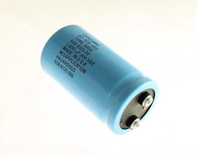 Sangamo 500x162t200bj2b 1600uf 200v Large Can Electrolytic Capacitor