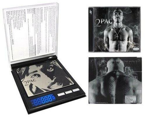 2PAC TuPac Digital SCALE PLATINUM SERIES 500g x 0.1g CD Scale Inc BATTERIES