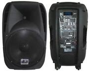 Rechargeable PA System