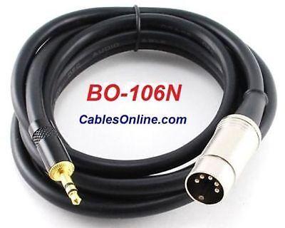 6 ft iPod/MP3 Pro. Cable  for BO, Naim, Quad, BO-106N