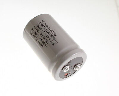 Mepco 12000uf 50vdc Large Can Electrolytic Capacitor 3186ec123u050bma1