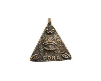 Amulet of Philipinnes Eye of La Providence Sator Anting Anting Roma L17