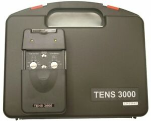 The Tens-3000 Professional TENS Unit overrides the pain signal t