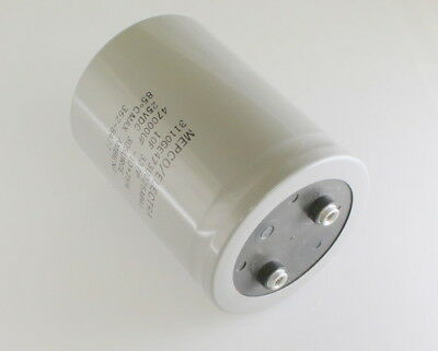 Mepco 47000uf 25vdc Large Can Electrolytic Capacitor 3110ge473u025apa1