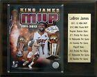LeBron James Miami Heat NBA Plaques