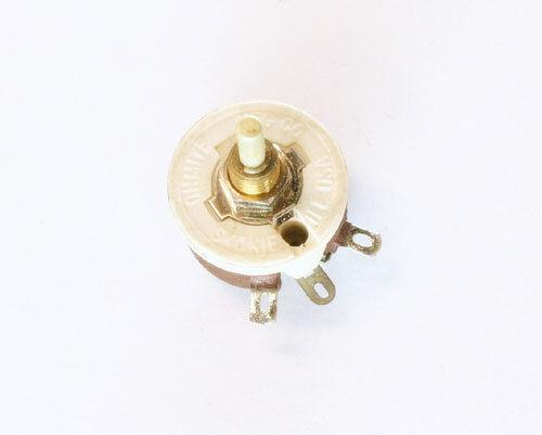 RES3K5 OHMITE 3500 Ohms 12.5 Watt Single Turn Rheostat 3.5 kOhm, 12.5W
