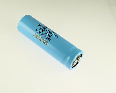 Mallory Cgs123u030r4l 12000uf 30v Large Can Electrolytic Capacitor