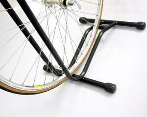 b22bf3625 Soporte bicicletas de suelo rueda para todos Tipos Negro NUEVO