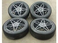 AVENSIS ALLOYS WITH TYRES
