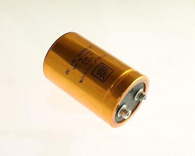 2x 4700uF 100V Large Can Electrolytic Aluminum Capacitor 4700mfd 4,700 100VDC  100v Aluminum Electrolytic Capacitor