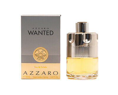 Azzaro Wanted by Azzaro 3.3 / 3.4 oz EDT Cologne for Men New In Box