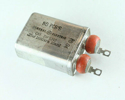 New Ge .25uf 1000v Pk Polypropylenepaper Oil High Voltage Snubber Capacitor