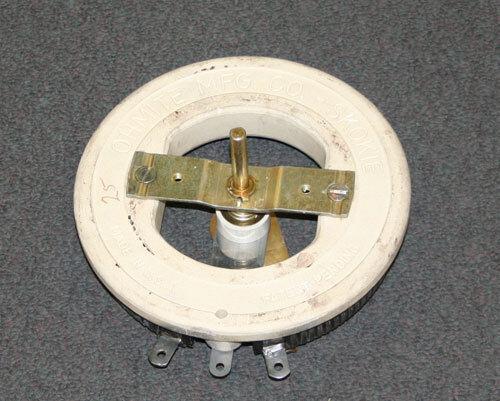 New Ohmite 8 Ohms 500 Watt Single Turn Rheostat RRS8R0